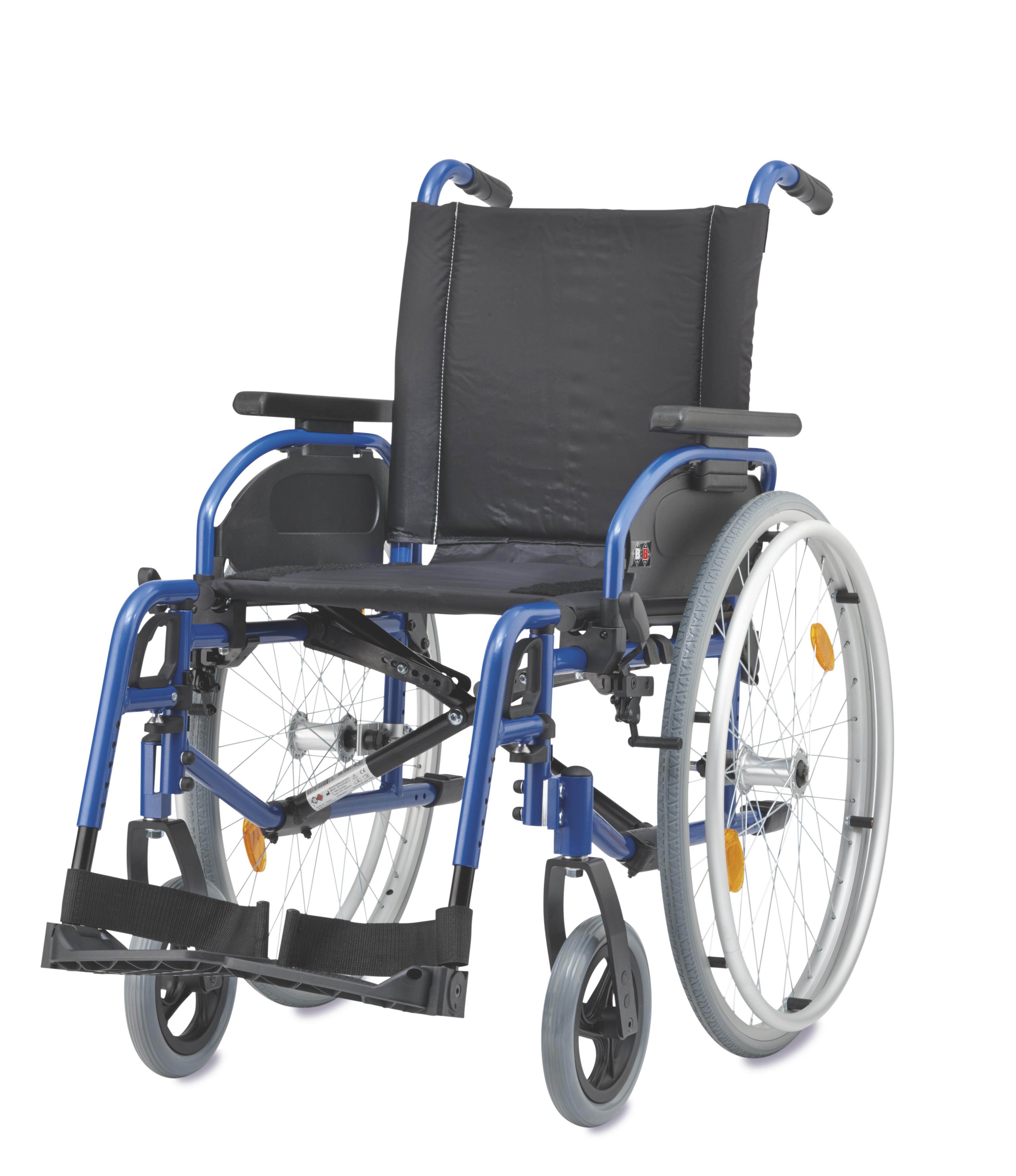 LG-Rollstuhl B&B Pyro Start Plus mit TBB