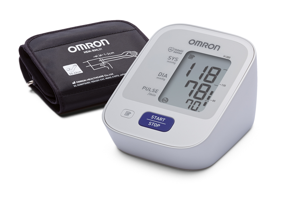 OMRON M300 mit Universalmanschette