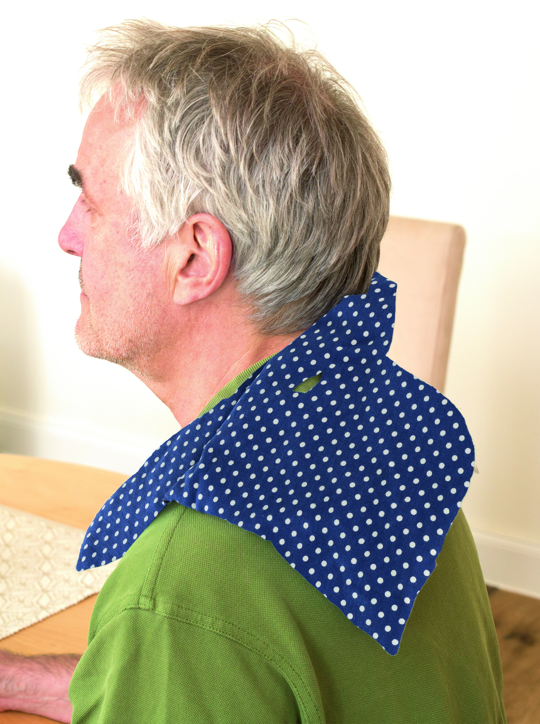 Kirschkern-Kissen Russka für Schulter-Nacken