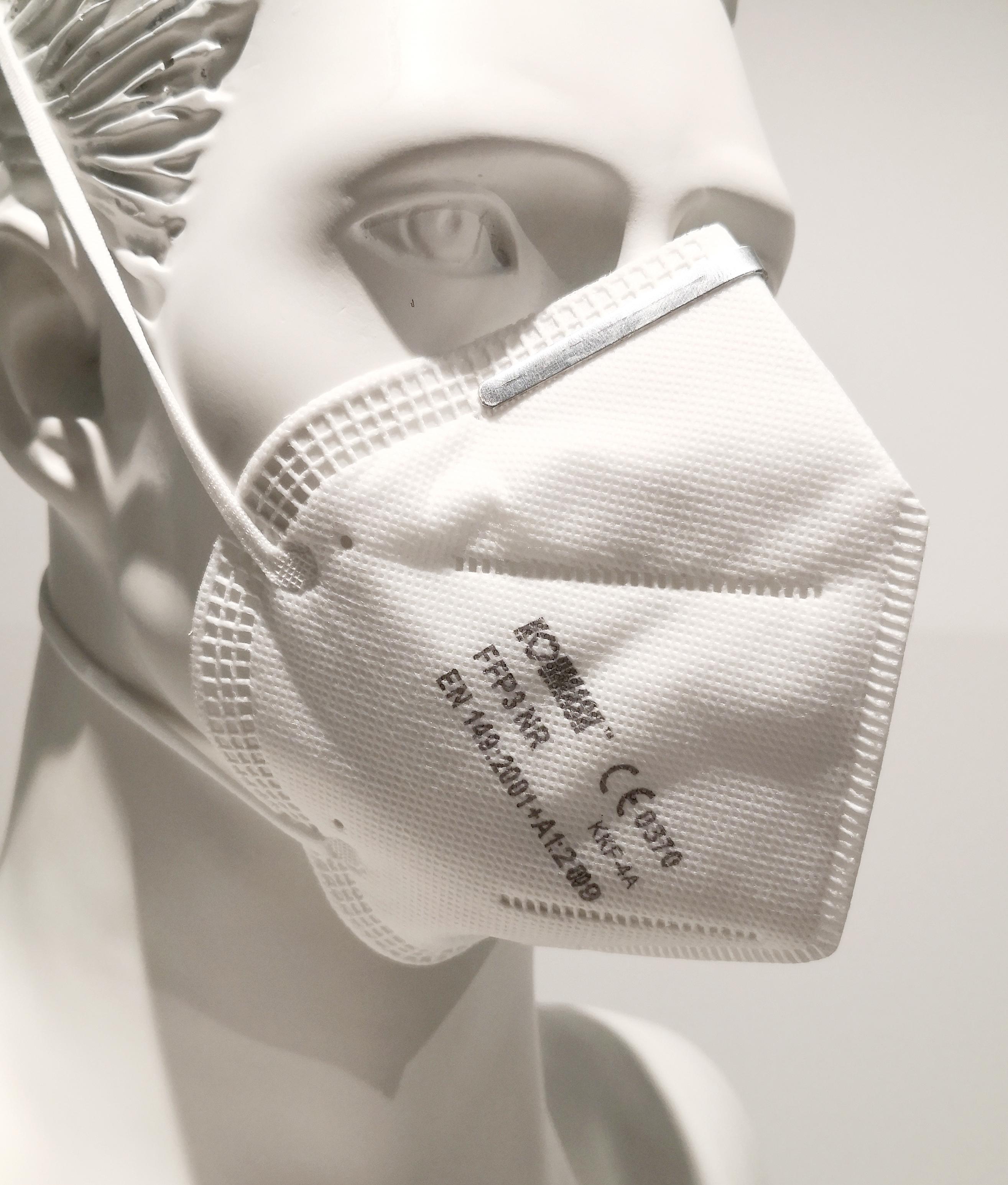 FFP3 NR Maske Dekra geprüft CE-Zertifiziert Koumask