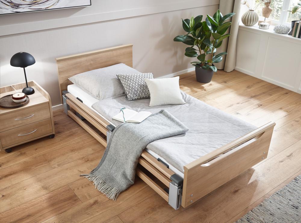 Burmeier Regia Seitensicherung kopfseitig 110cm Holz-Blende