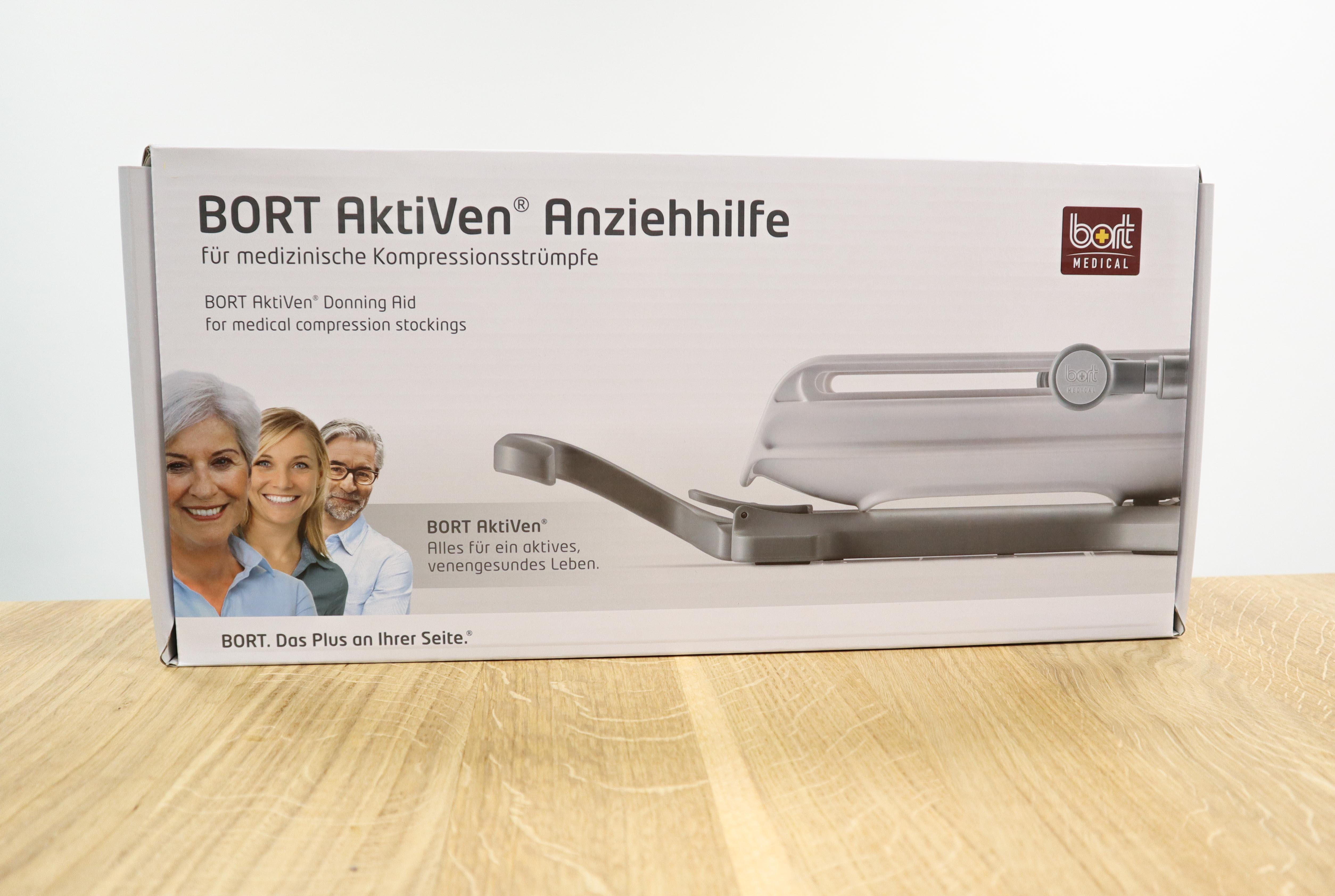 BORT AktiVen® Anziehhilfe für medizinische Kompressionsstrümpfe